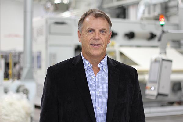 Steve Fransoso headshot Bondex thermal bonded hydro-entangled spunlace nonwovens Hydrolox