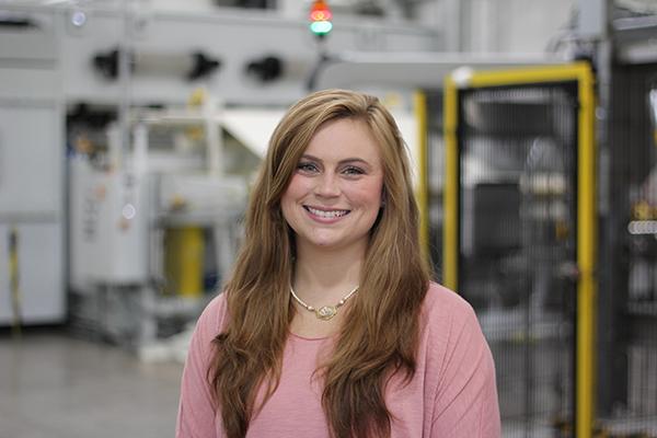 Katie Johnson headshot Bondex thermal bonded hydro-entangled spunlace nonwovens Hydrolox